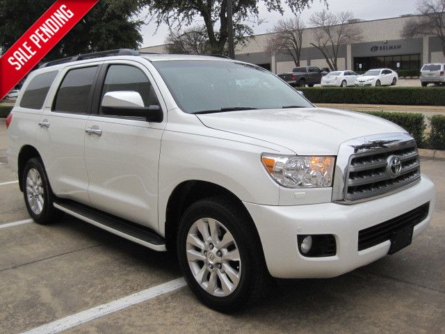 2010 Toyota Sequoia Platinum, All Options, White Pearl,Like New,