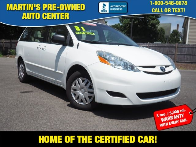 2010 Toyota Sienna LE 7-Passenger in Whitman, MA 02382