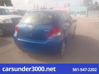 2010 Toyota Yaris Lake Worth , Florida 3