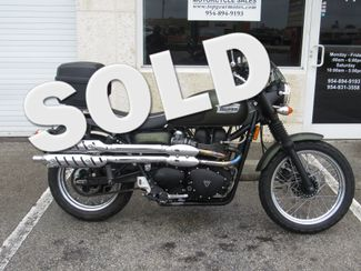 2010 Triumph Scrambler in Dania Beach Florida, 33004