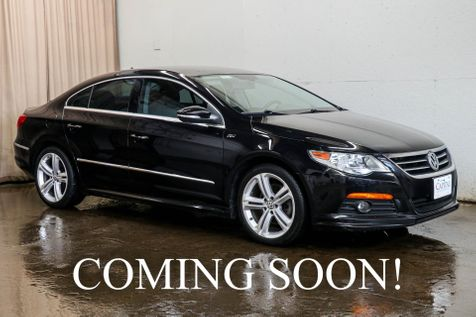 2010 Volkswagen CC R-Line 2.0T Luxury Sedan w/Heated Seats, Bluetooth Audio, Tinted Windows & 18