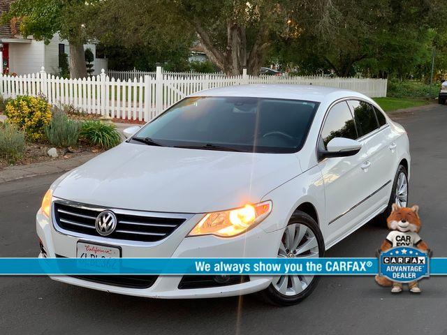 2010 Volkswagen CC SPORT SEDAN AUTOMATIC SERVICE RECORDS