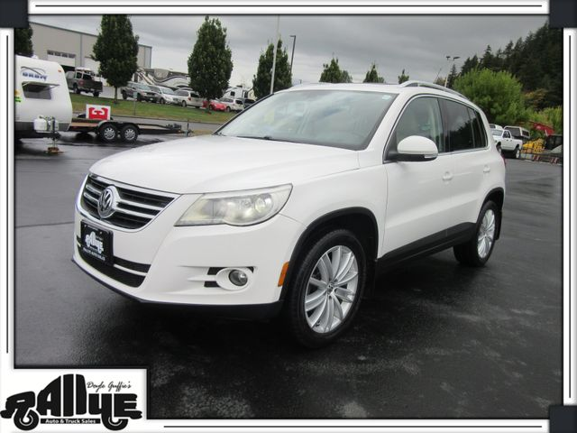 2010 Volkswagen Tiguan SEL 4 Motion 2.0T AWD in Burlington WA, 98233