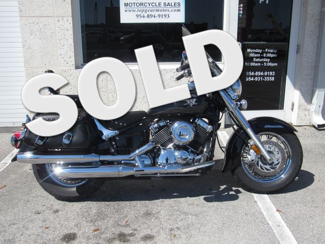 2010 Yamaha V-Star XVS650 Classic in Dania Beach Florida, 33004