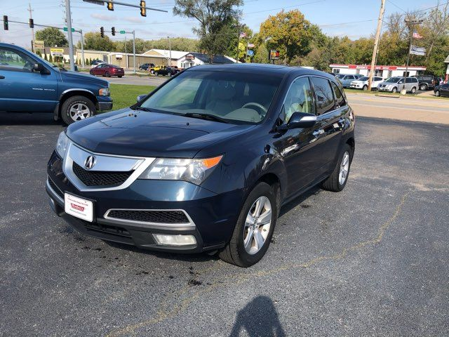 2011 Acura MDX 4d SUV Advance in Coal Valley, IL 61240