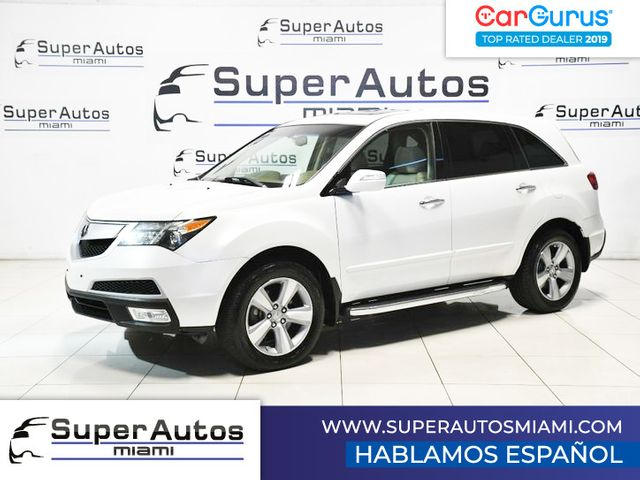 2011 Acura MDX Technology Package with 3rd Row Seats