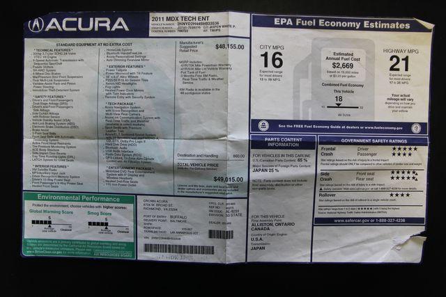 2011 Acura MDX Tech/Entertainment Pkg Richmond, Virginia 37