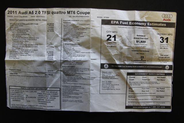 2011 Audi A5 2.0T Premium Plus Richmond, Virginia 28