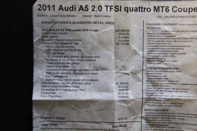 2011 Audi A5 2.0T Premium Plus Richmond, Virginia 29