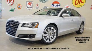 2011 Audi A8 SUNROOF,NAV,BACK-UP CAM,HTD/COOL LTH,20'S,76K in Carrollton TX, 75006