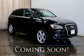2011 Audi Q5 3.2 Prestige Quattro AWD S-Line Crossover with Nav Panoramic Roof Heated Seats and B&O Audio Pkg in Eau Claire, Wisconsin 54703