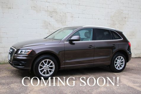 2011 Audi Q5 2.0T Quattro AWD Luxury Crossover w/Panoramic Moonroof Heated Seats 10-Speaker Audio & 18