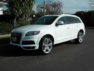 2011 Audi Q7, TDI, Prestige, S-Line in , California