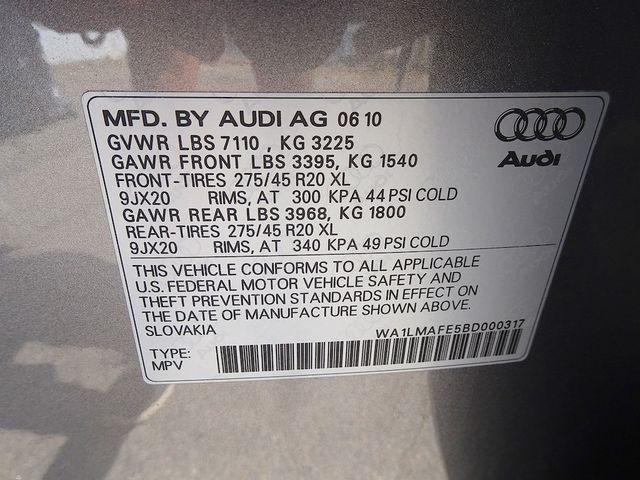2011 Audi Q7 3.0L TDI Premium Plus Madison, NC 60