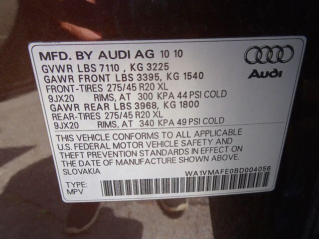 2011 Audi Q7 3.0L TDI Prestige Madison, NC 61