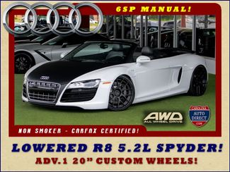 2011 Audi R8 5.2L V10 SPYDER QUATTRO AWD - LOWERED - NAVIGATION Mooresville , NC