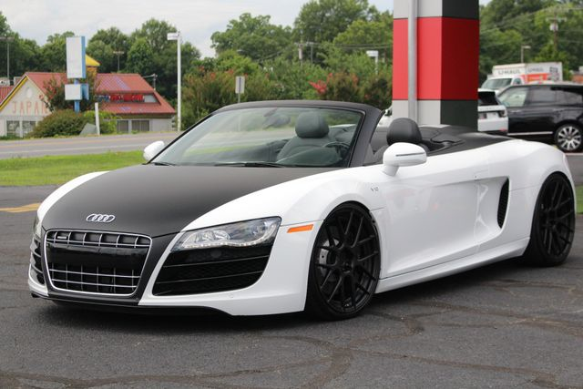 2011 Audi R8 5.2L V10 SPYDER QUATTRO AWD- ADJUSTABLE COILOVERS! Mooresville , NC 22