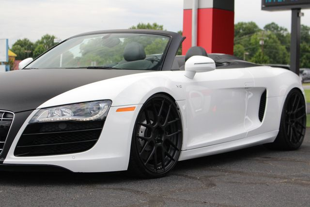 2011 Audi R8 5.2L V10 SPYDER QUATTRO AWD- ADJUSTABLE COILOVERS! Mooresville , NC 24