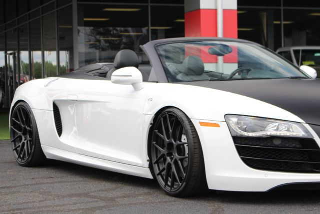 2011 Audi R8 5.2L V10 SPYDER QUATTRO AWD- ADJUSTABLE COILOVERS! Mooresville , NC 23