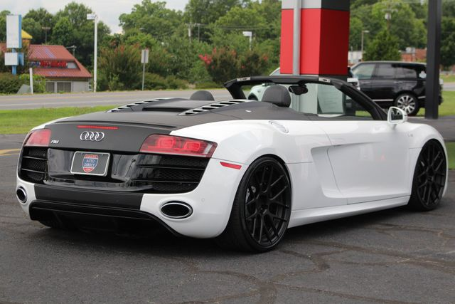 2011 Audi R8 5.2L V10 SPYDER QUATTRO AWD- ADJUSTABLE COILOVERS! Mooresville , NC 25
