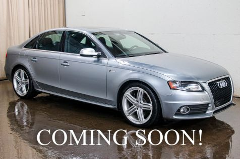 2011 Audi S4 Prestige Quattro AWD w/Navigation,  Panoramic Roof, Heated Seats and B&O Sound System in Eau Claire