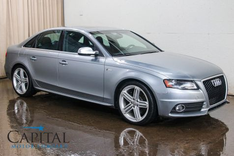 2011 Audi S4 Prestige Quattro AWD w/Navigation, Backup Cam, Heated Seats, Audi Drive Select and B&O Audio in Eau Claire