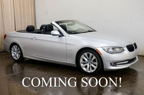 2011 BMW 328i Convertible w/Power Hardtop, Navigation, Heated Steering Wheel & Seats, Xenons & BT Audio in Eau Claire