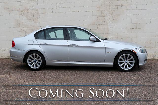 2011 BMW 328i Luxury-Sport Sedan w/Premium Pkg, Power Moonroof, Dual A/C and Hi-Fi Audio in Eau Claire, Wisconsin 54703