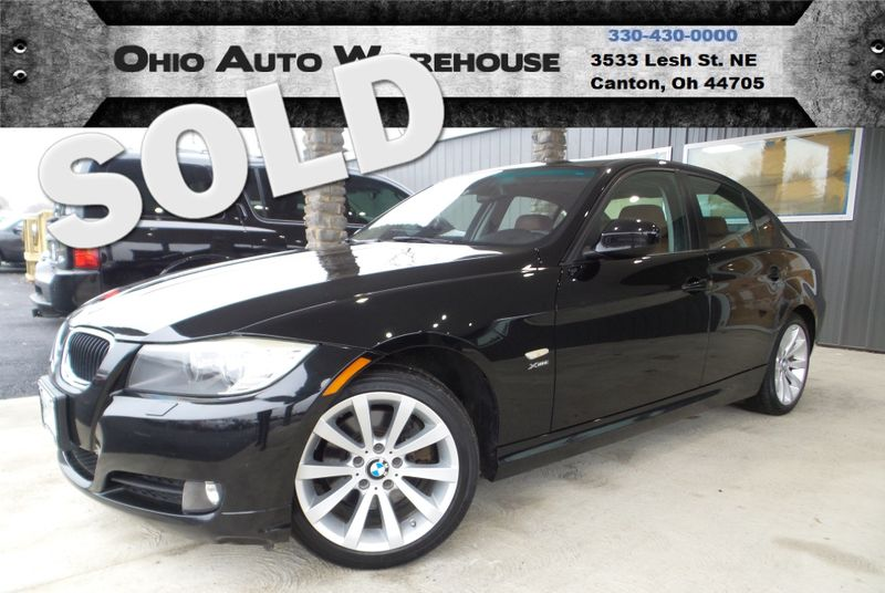 2011 BMW 328i xDrive All Wheel Drive Sunroof Clean Carfax We Finance | Canton, Ohio | Ohio Auto Warehouse LLC in Canton Ohio