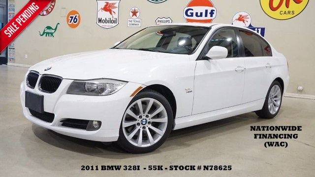 2011 BMW 328i xDrive Sedan AUTO,SUNROOF,NAV,HTD LTH,55K,WE FINANCE