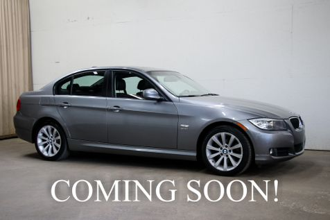 2011 BMW 328xi xDrive AWD w/Premium Pkg, Navigation, Moonroof, Heated Steering Wheel and Heated Seats in Eau Claire