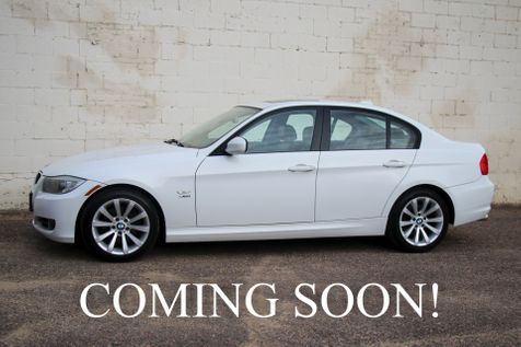 2011 BMW 328xi xDrive AWD w/Navigation, Heated Steering Wheel, Heated Seats, Moonroof and Bluetooth Audio in Eau Claire