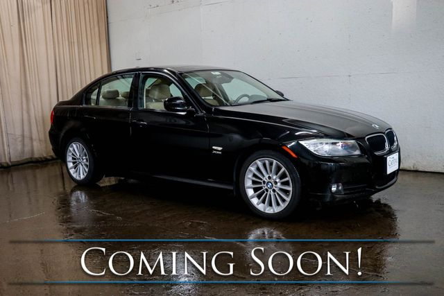 2011 BMW 328xi xDrive AWD Luxury Car with Sport Package, Heated Seats, Moonroof & Premium Package
