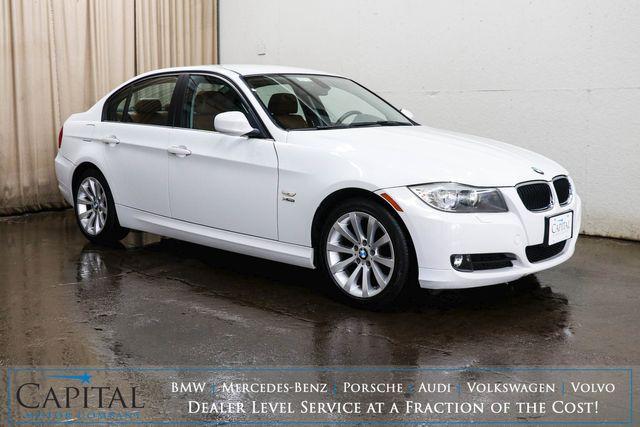2011 BMW 328xi xDrive AWD Sport Sedan w/Heated Seats/Steering Wheel, HiFi Audio & 2-Tone Interior