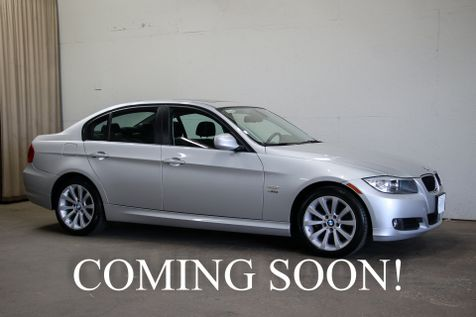 2011 BMW 328xi xDrive AWD Sport Sedan w/Heated Seats and Steering Wheel, Power Moonroof & Satellite Radio in Eau Claire