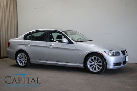 2011 BMW 328xi xDrive AWD Sport Sedan w/Heated Seats and Steering Wheel, Power Moonroof & Satellite Radio in Eau Claire