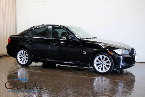 2011 BMW 328xi xDrive AWD Sport Sedan w/Heated Seats, Moonroof, Hi-Fi Audio & Saddle Brown Interior in Eau Claire