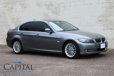 2011 BMW 335d Clean Turbo Diesel w/Heated Seats, Moonroof, Keyless Start & Gorgeous 2-Tone Interior in Eau Claire