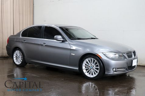 2011 BMW 335d Clean Turbo Diesel w/Navigation, Moonroof, Xenons, Hi-Fi Audio with Bluetooth and Gets 36MPG in Eau Claire