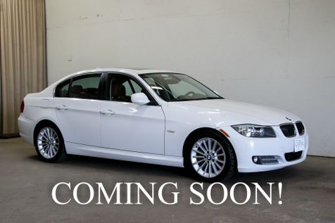2011 BMW 335d Clean Turbo Diesel Sports Car w/Navigation, Heated Seats, Moonroof & Bluetooth Streaming Audio in Eau Claire