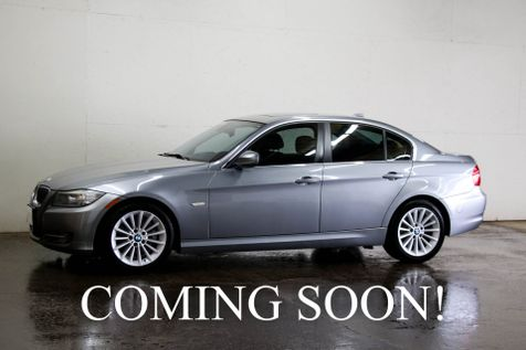 2011 BMW 335d Clean Turbo Diesel Luxury Sports Car with Navigation, Moonroof, Hi-Fi Audio & Gets 36MPG in Eau Claire
