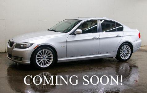 2011 BMW 335d Clean Turbo Diesel Sport Sedan w/Heated Seats & Steering Wheel, Moonroof and Gets 36MPG in Eau Claire