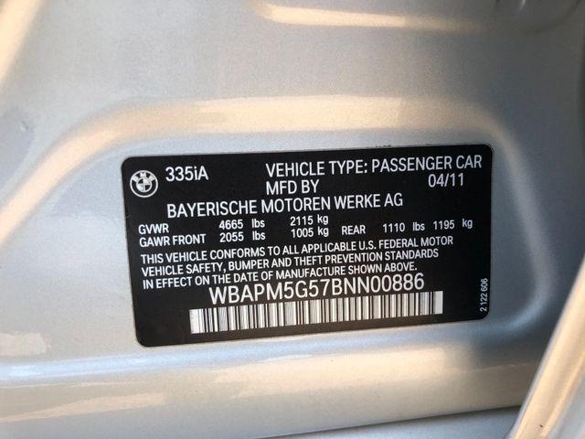 2011 BMW 335i SEDAN W/SPORT PKG Sterling, Virginia 41