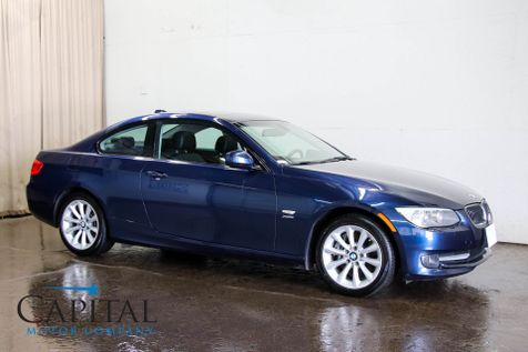 2011 BMW 335xi xDrive AWD Luxury Coupe with Sport Package, Heated Seats, Professional Audio and Xenon Lights in Eau Claire