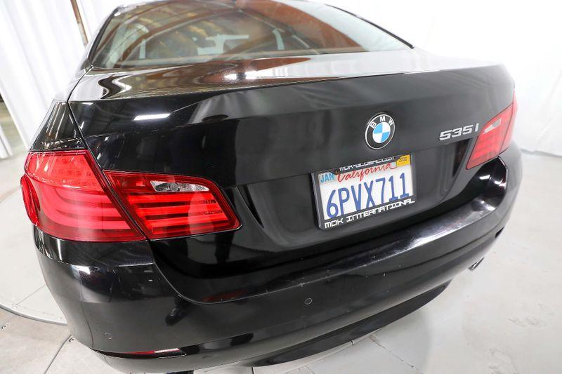 2011 BMW 535i - Navigation - Rear sunshades  city California  MDK International  in Los Angeles, California