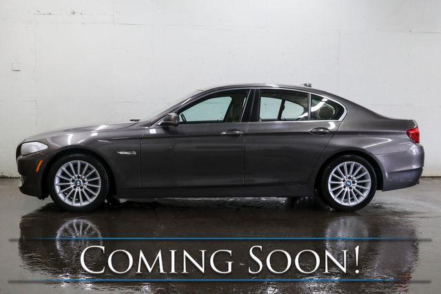 2011 BMW 535i Turbo Sport Sedan w/6-Speed Manual, Nav, Heated/Cooled Seats, Moonroof & B.T. Audio in Eau Claire, Wisconsin 54703