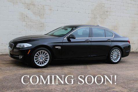 2011 BMW 535xi xDrive AWD Sport Sedan w/Navigation, Heated Seats, Moonroof & Streaming Bluetooth Audio in Eau Claire