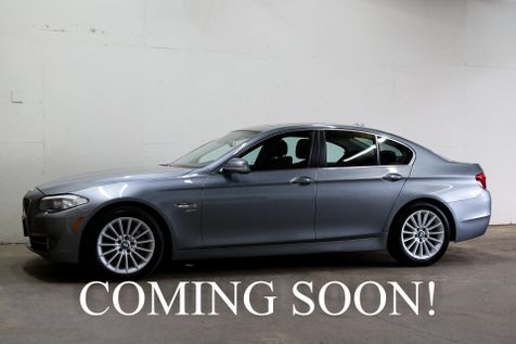 2011 BMW 535xi xDrive AWD Luxury Car w/Navigation, Heated Front/Rear Seats, Premium 2 Pkg & Bluetooth Audio in Eau Claire