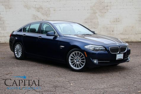 2011 BMW 535xi xDrive AWD w/Head-Up Display, Navigation, Heated Front / Rear Seats and Moonroof in Eau Claire