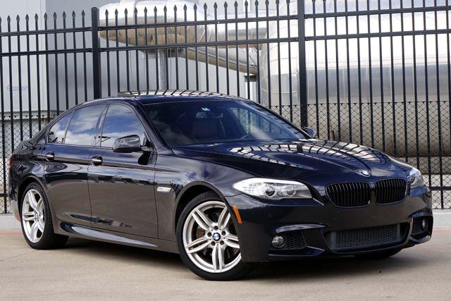 2011 BMW 550i* M Sport* HUD* NAV* BU Cam* Cinnamon Lthr* EZ Finance**   Plano, TX   Carrick's Autos in Plano TX